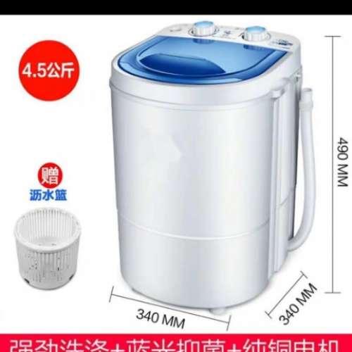 九成新個人半自動 小型洗衣機 - DCFever.com