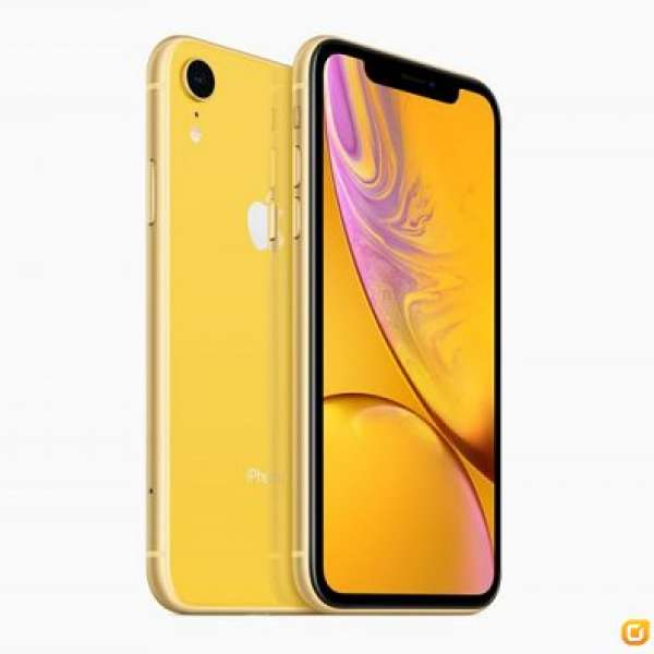 Apple iPhone XR 128gb 黃色 全新行貨 - DCFever.com