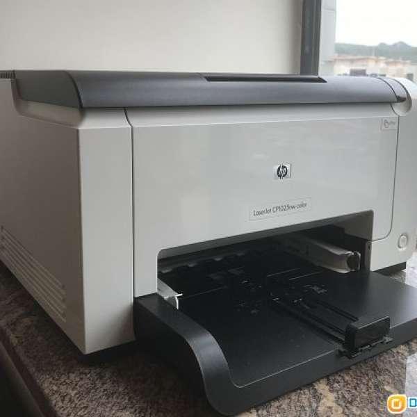 HP Color Laserjet Pro cp1025nw - DCFever.com