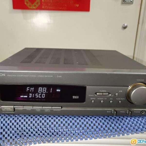 DENON~D-60收音擴音機。 - DCFever.com