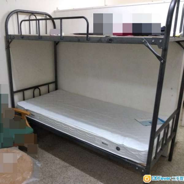 3呎上下層雙層床架 + 圖中白色床肉 - DCFever.com