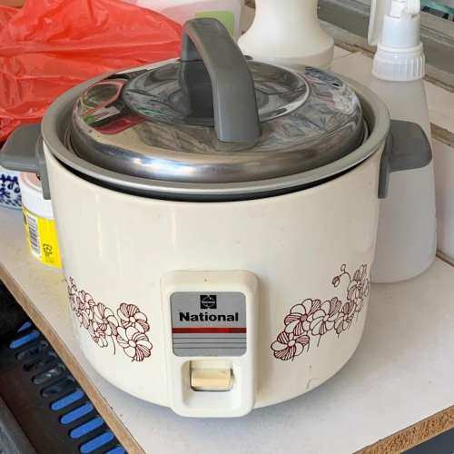 National Rice Cooker SR-W06N 電飯煲 懷舊 輕巧 傳統款 Matsushita - DCFever.com