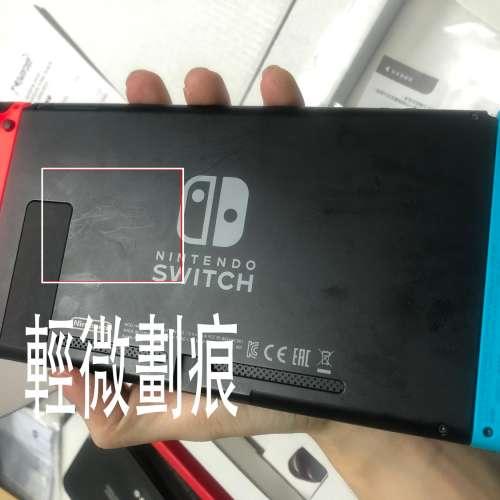 SWITCH續航版香港行貨7月26日入98新 + 4隻主流遊戲 - DCFever.com
