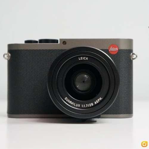[FS] *** Leica Q Typ 116 - Titanium Gray (19012) Q Titan 鈦金色*** - DCFever.com