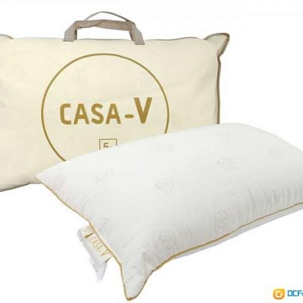 全新品 Casablanca 卡撒天嬌, CASA-V 舒眠羊毛枕, 5A防菌, 防蟎功能, 舒壓枕 枕頭 - DCFever.com