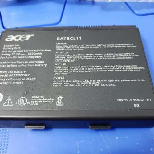 ACER travelmate 430 notebook 6300mh 電池 BATBCL 11 98% new 好少用 - DCFever.com