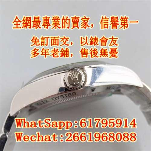 Rolex Milgauss 116400gv-72400 40mm AR 綠玻璃 藍面 - DCFever.com