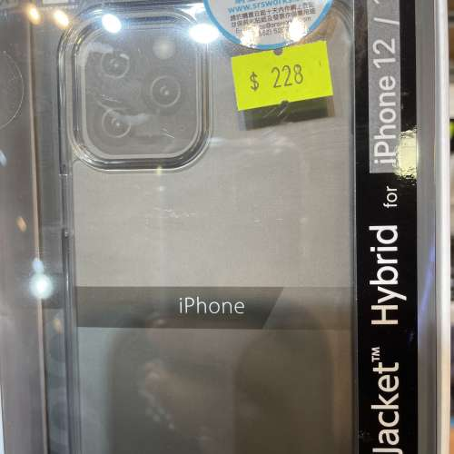 iPhone 12 / 12 Pro 日本 Air Jacket Hybrid 保護殼 全新未用品 - DCFever.com