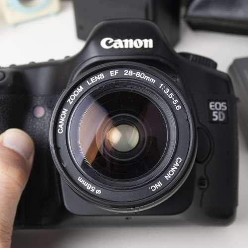 Canon Full frame 5D Mk 1+380ex 送28-90usm 鏡頭 - DCFever.com