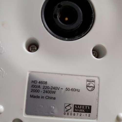 7成新 Philip's 電熱水煲 HD4608 (水煲蓋較爛了一面) - DCFever.com