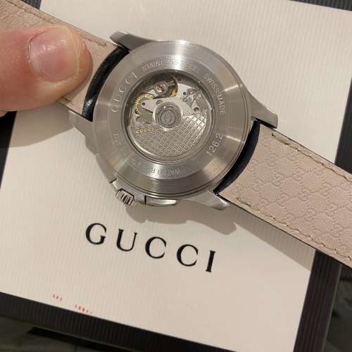 44mm XL GUCCI swiss made automatic chronograph full set 100% new - DCFever.com