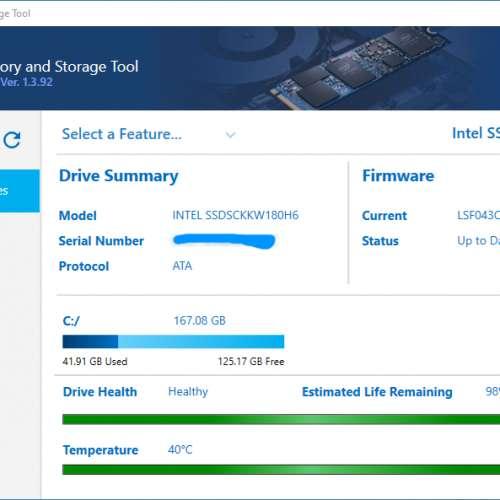 Intel 540s 180G M.2 2280 NGFF OEM版 - DCFever.com