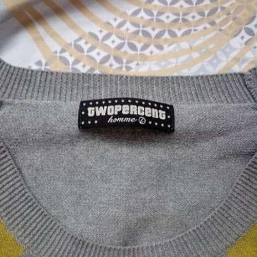 85%新New Two Percent 2%Knit Jumper冷衫 Sweater - DCFever.com