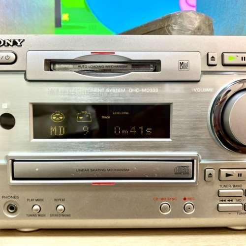 SONY DHC-MD333 CD / MD Player MINI HIFI - DCFever.com