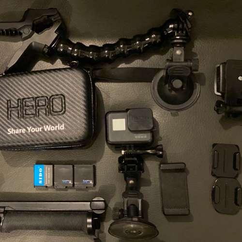 GoPro Hero 5 black 三舊電 多配件 - DCFever.com