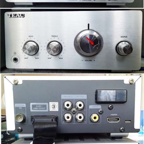 TEAC TC-640 N mini hifi - DCFever.com