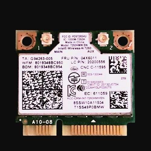 Intel Wireless-N 7620 mini PCI-E notebook WiFi 卡 - DCFever.com