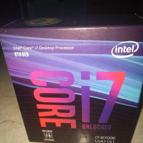 盒裝行貨intel i7 8700K - DCFever.com