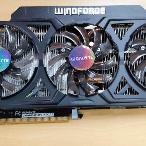 Gigabyte Windforce GeForce GTX 760 4GB OC (REV 2.1) - DCFever.com