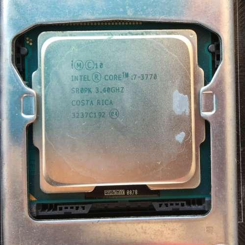 二手 ASUS P8H77-M 底板 + INTEL i7 CPU + INTEL fan (零件價) HK$700.00 - DCFever.com