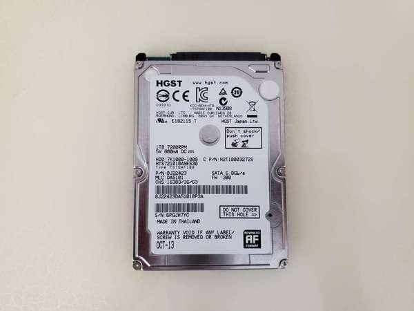 出售 HGST 7K1000 1TB 7200rpm 2.5吋 Harddisk 硬碟 - DCFever.com