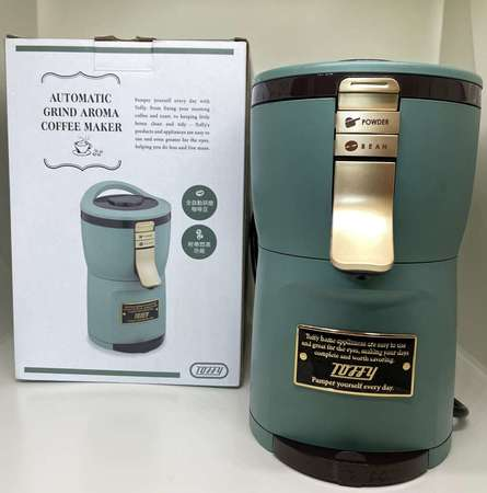 出售 [FS] 日本Toffy Aroma 自動研磨咖啡機 (湖水綠) - DCFever.com