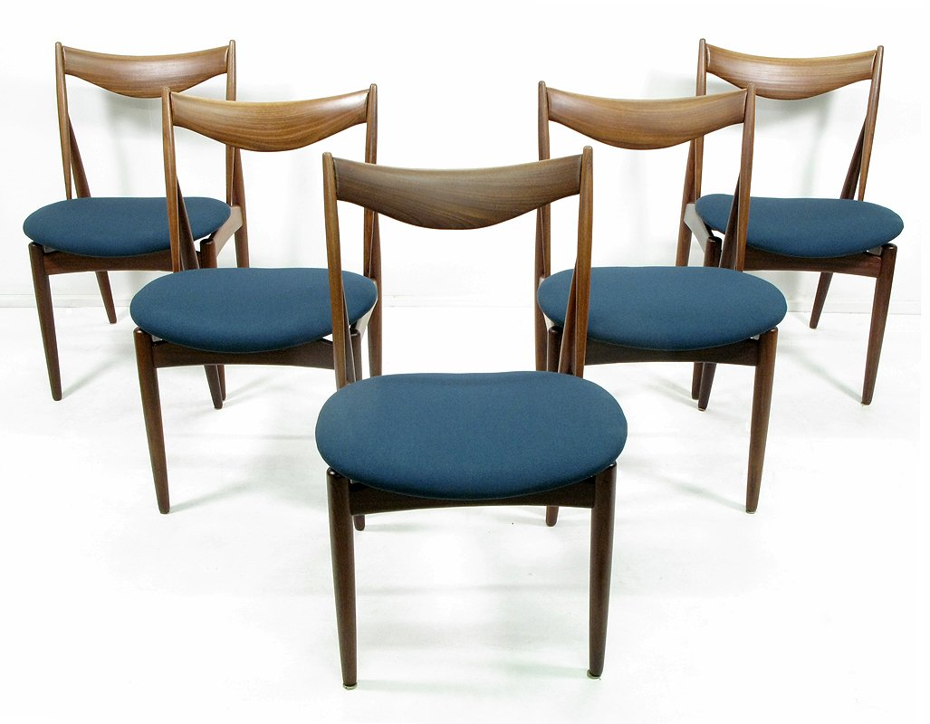 Five Chairs Sculptural Dining Chairs By Kurt Ostervig For Bramin