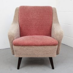 Pink Arm Chair Yarn Hanging Two Tone German Armchair 1950s For Sale At Pamono