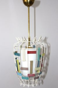 Vintage Pendant Lamp, 1950s for sale at Pamono