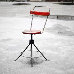 Steel Chair Manufacturing Process Vladimir Kagan Nautilus Polish Industrial Workshop Metal 1950s For Sale At