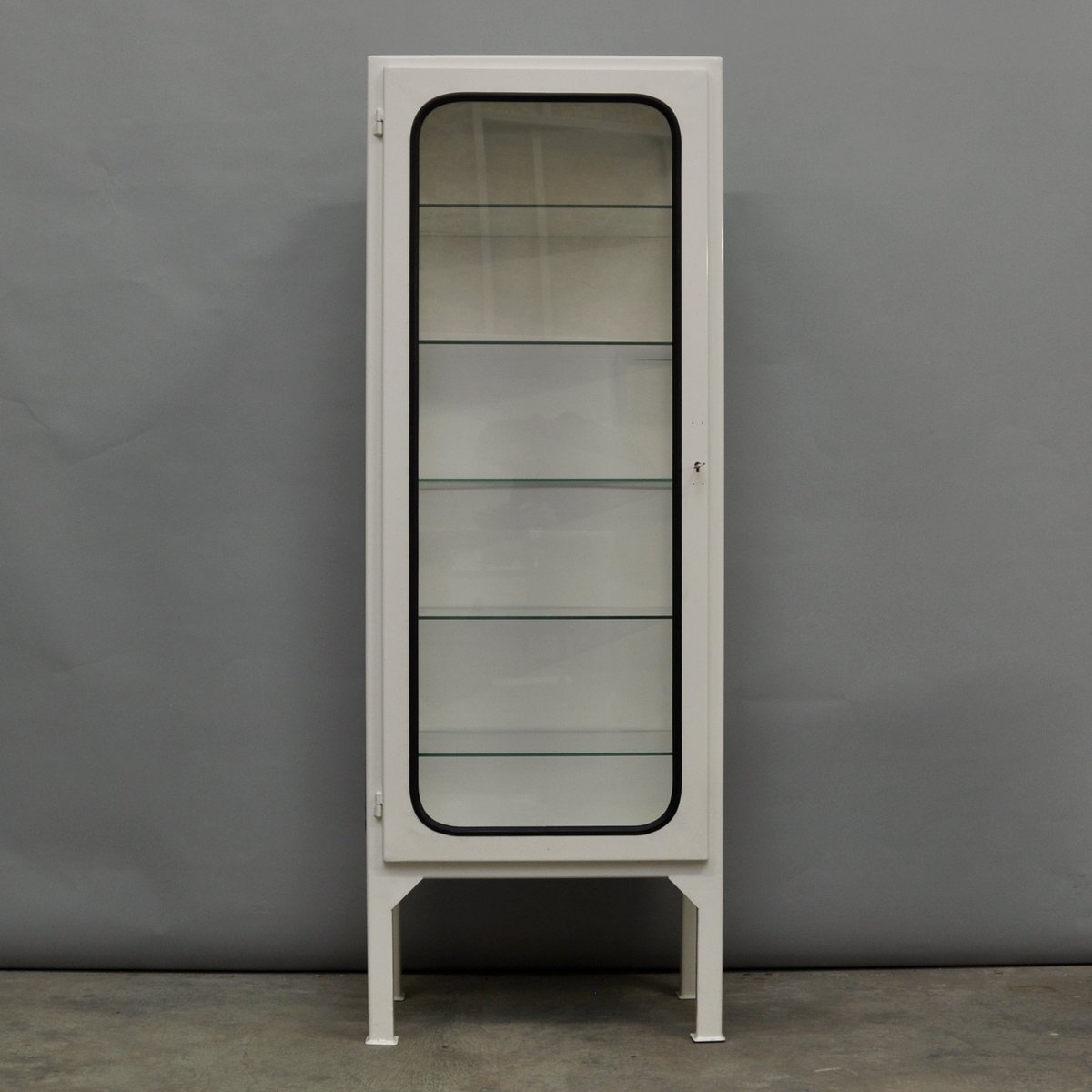 Vintage Tall Hungarian Medicine Cabinet 1970s for sale at