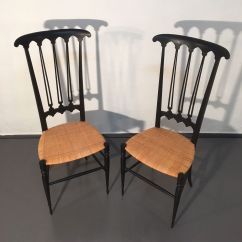 Chiavari Chairs China Modern Rocking Chair Outdoor Mid Century Black Set Of 2 For Sale At Pamono