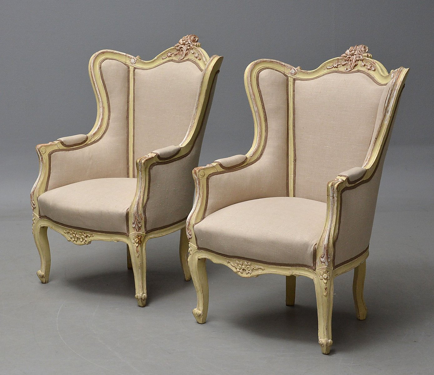 french antique chairs for sale chair covers and sash hire hertfordshire bergère set of 2 at pamono