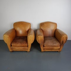 French Club Chairs For Sale Resin Patio Clearance Vintage Leather Chair At Pamono