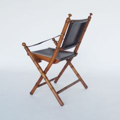 Folding Chair Leather Lime Dining Chairs Vintage And Teak Campaign For Sale