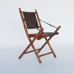 Folding Chair Leather Best Chairs Geneva Glider White Vintage And Teak Campaign For Sale