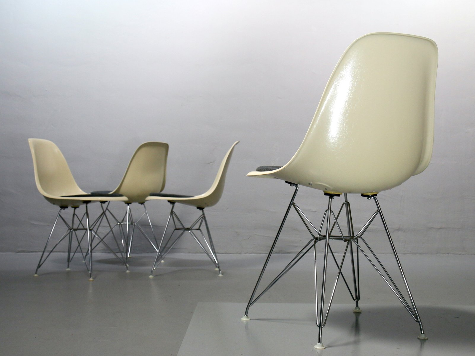 Vintage Side Chair by Charles & Ray Eames for Vitra for