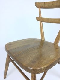 Children's School Chair from Ercol, 1950s for sale at Pamono