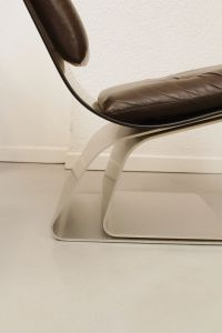 Glass Chair from Maison Jansen, 1970s for sale at Pamono