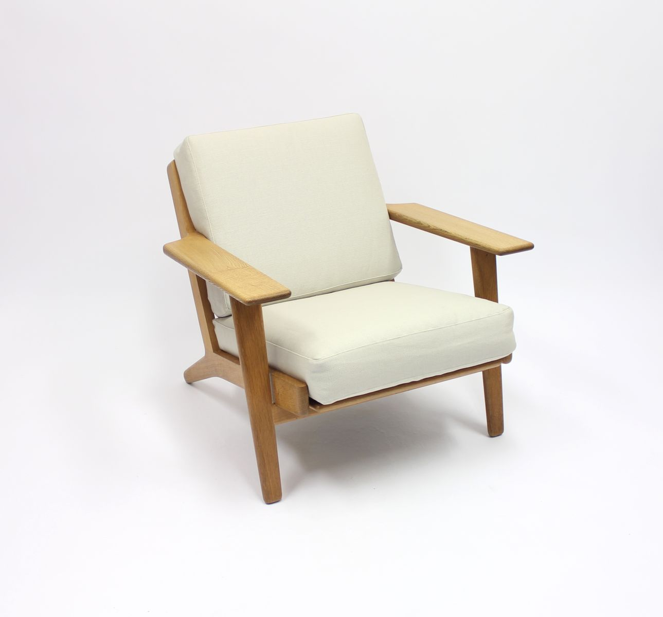Wenger Chairs Ge 290 Easy Chair By Hans J Wenger For Getama 1960s For