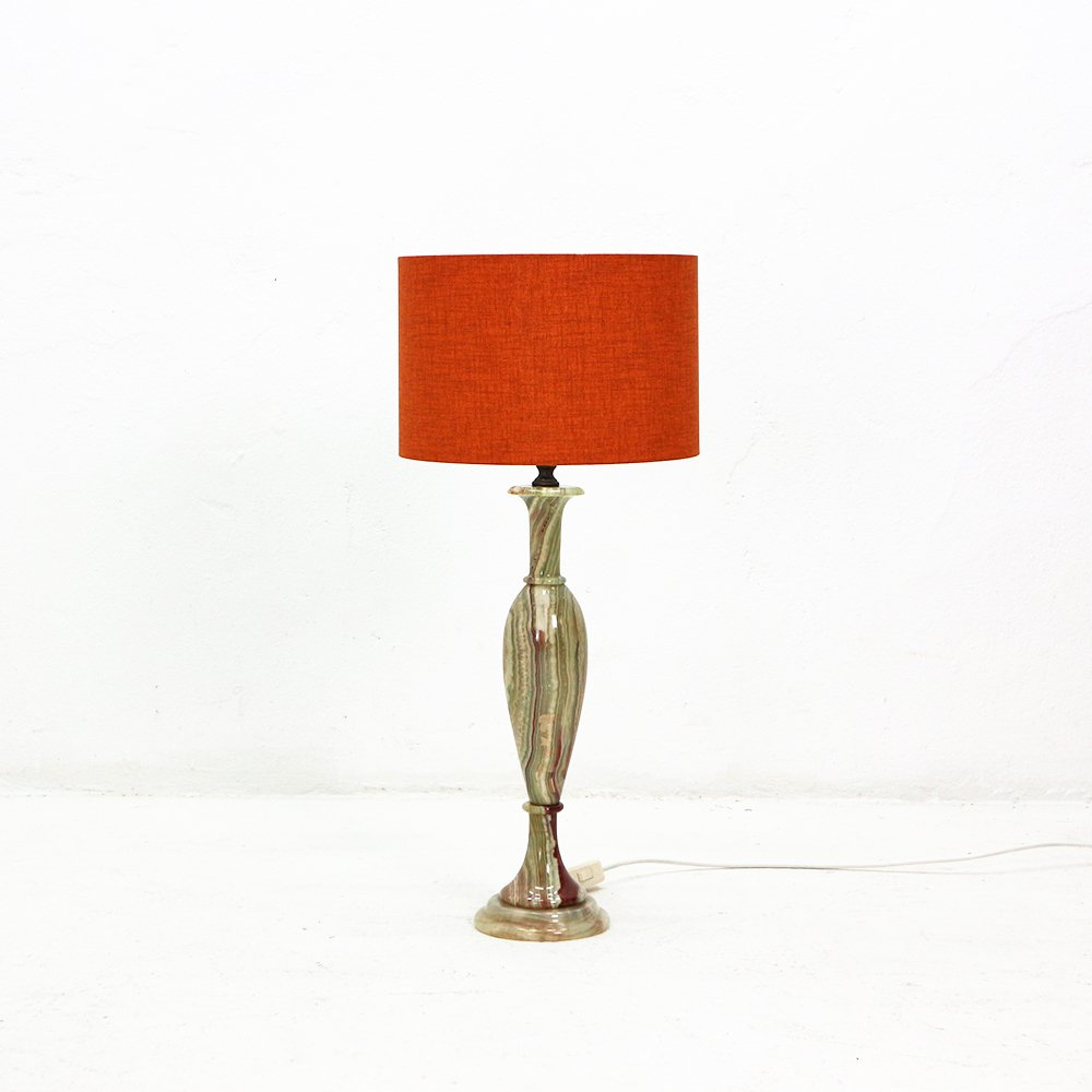 Table Lamp with Marble Base, 1960s for sale at Pamono