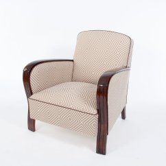 French Club Chairs For Sale Modern High Back Wing Chair Art Deco 1930s Set Of 2 At