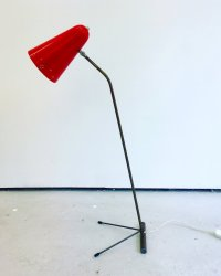Mid-Century Tall Tripod Table Lamp, 1960s for sale at Pamono