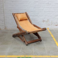 Antique Beach Chair On Dental Vintage Lounge For Sale At Pamono