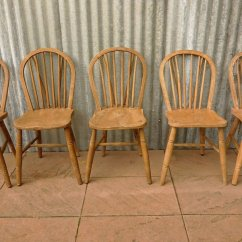 Windsor Back Chairs For Sale Baby Toddler Chair Fisher Price Vintage Bow Set Of 5 At Pamono