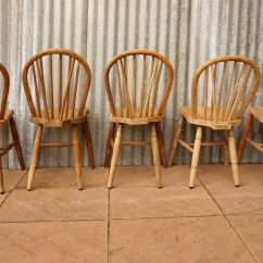 Windsor Back Chairs For Sale Electric Chair Accessories Vintage Bow Set Of 5 At Pamono