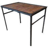 Mid-Century Industrial Table for sale at Pamono