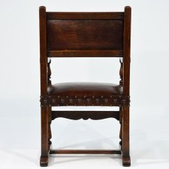 Set Of 8 Dining Chairs Stackable Folding Antique For Sale At Pamono