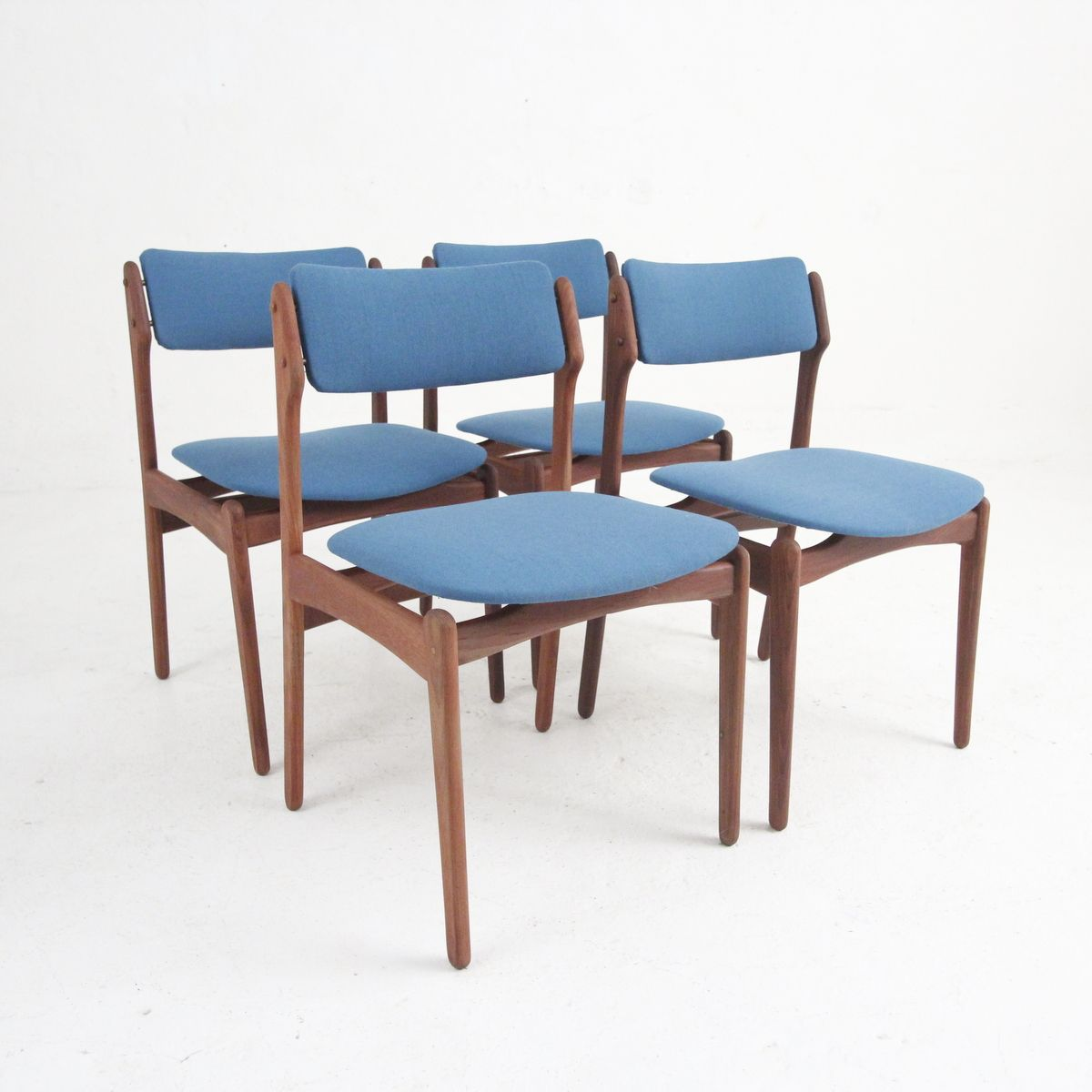 danish modern dining chairs desk chair home goods vintage in rosewood set of 4