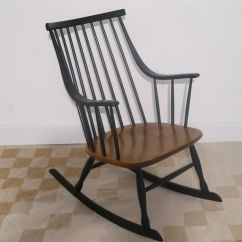 Antique Rocking Chair Price Guide Cane Seat Dining Room Chairs Vintage By Lena Larsson For Nesto Sale